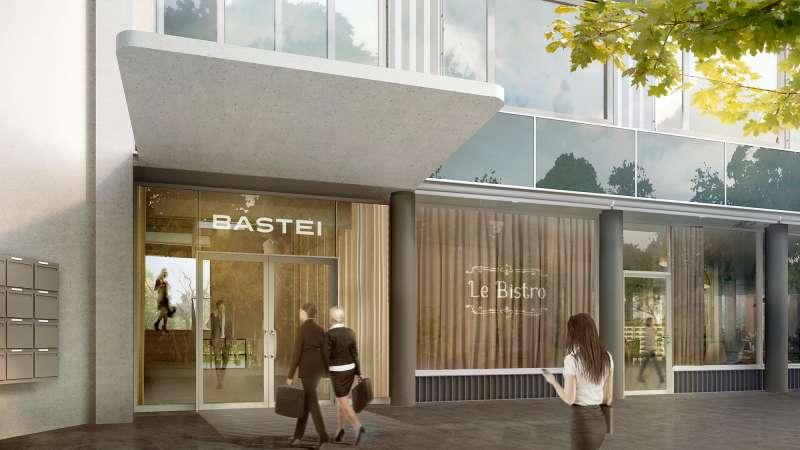 04 Haupteingang Hochhaus Bastei